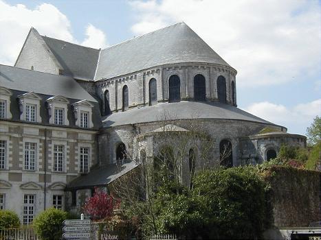 Beaugency - Eglise abbatiale Notre-Dame.