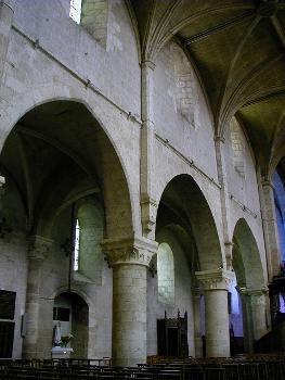 Beaugency - Eglise abbatiale Notre-Dame - Nef - Elévation