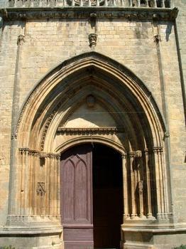Eglise Saint-Laurent-Saint-Front, Beaumont-du-PérigordPortail occidental