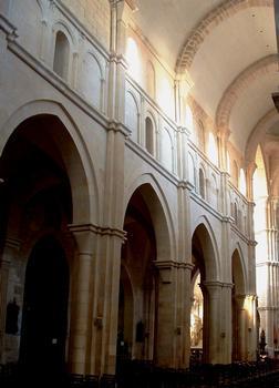 Beaune - Collégiale Notre-Dame - Elévation de la nef