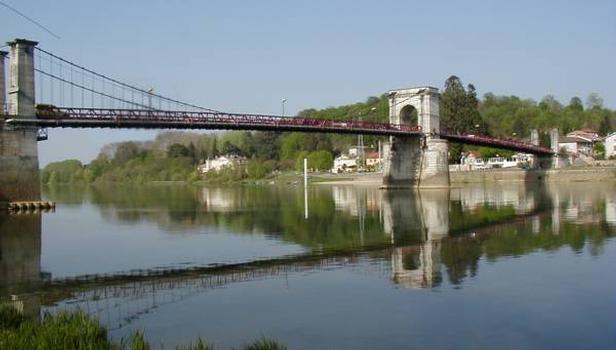Pont de Beauregard sur la Saône
