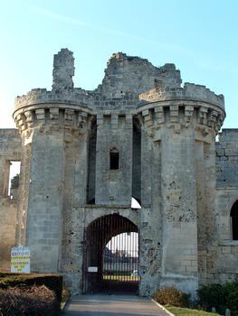 Burg, Berzy-le-Sec