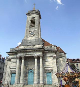 Besançon - Eglise Saint-Pierre - Façade