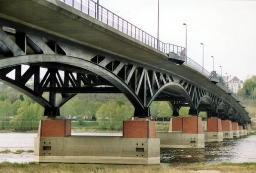 Pont François-Mitterrand, Blois