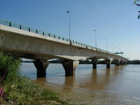 Pont François Mitterand à Bordeaux