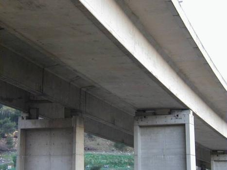 Autoroute A8: Viaduc de Borriglione