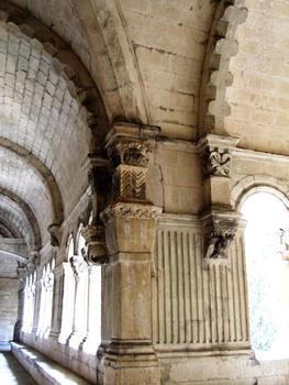Abbaye de Montmajour - Galerie du cloître