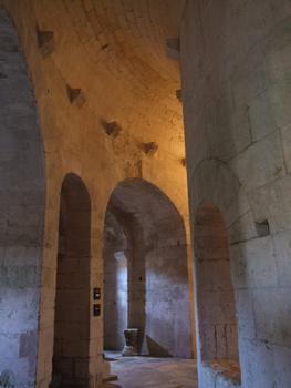 Abbaye de Montmajour - Eglise basse - Déambulatoire
