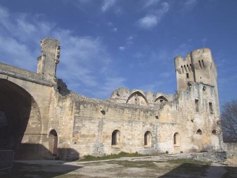 Abbaye de Montmajour - Ruines des bâtiments conventuels du moyen âge