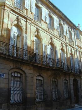 Aix-en-Provence - Hôtel de Villeneuve d'Ansouis