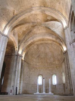 Abbaye de Montmajour - Eglise haute, abbatiale Notre-Dame