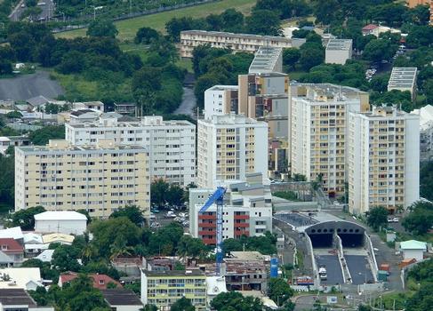 Boulevard Sud de Saint-Denis - Mazagran-Doret-Tunnel