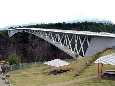 Pont du Bras de la Plaine, La Réunion.