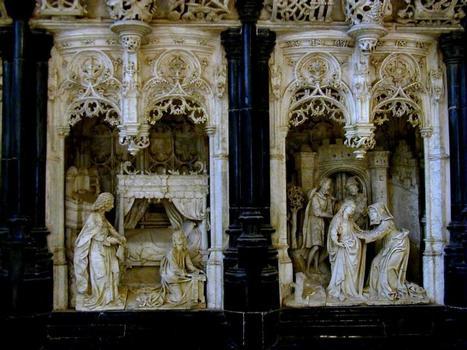 Chapelle de Marguerite d'Autriche - Retable des sept joies -Détail