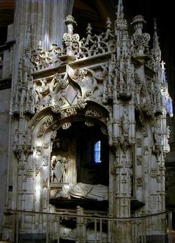 Eglise du Monastère royal de Brou.Tombeau de Marguerite d'Autriche