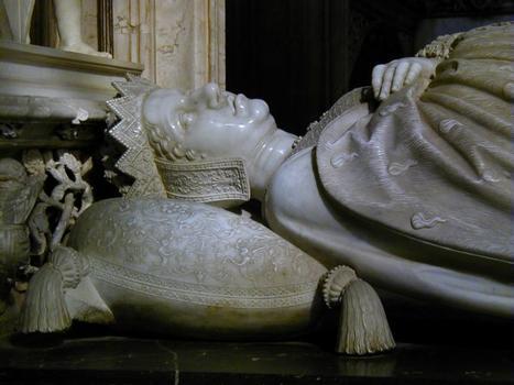 Tombeau de Marguerite d'Autriche - Gisant de l'étage supérieur