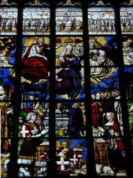 Chapelle de Marguerite d'Autriche - Vitrail