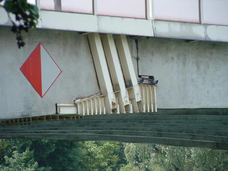 Pont routier de Bry, Bry-sur-Marne Renforcement d'une console d'appui