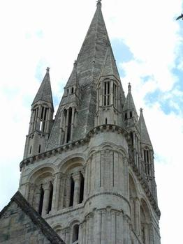Abbaye aux Hommes, CaenEglise Saint-Etienne - Flèche de la tour Nord