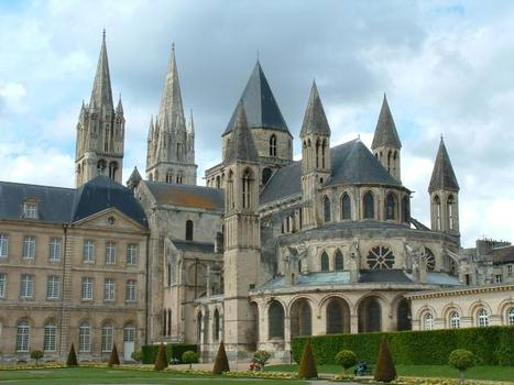 Abbaye aux Hommes, CaenEglise et bâtiments conventuels