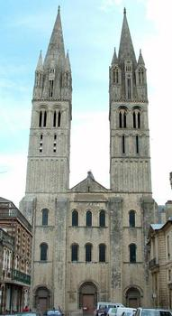 Abbaye aux Hommes, CaenEglise Saint-Etienne - Façade occidentale