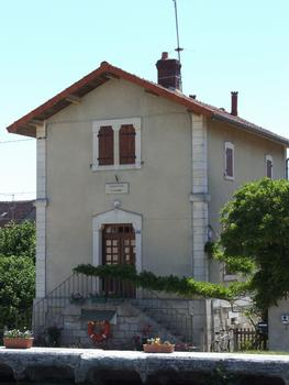 Briare-Kanal in Rogny - Schleuse Nr. 18 - Schleusenhaus