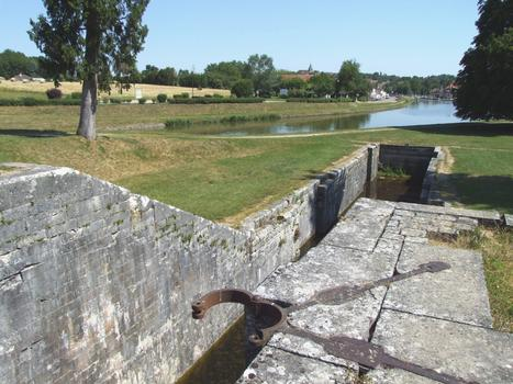 Briare-Kanal - Schleusentreppe Rogny
