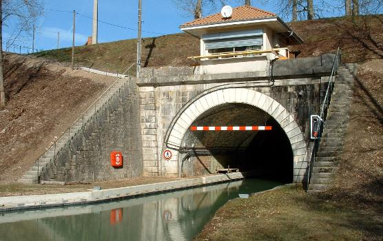 Canal de l'Aisne à la Marne Entrée du tunnel de Billy-le-Grand