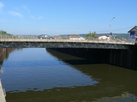 Pont-Saint-Vincent - Franchissement du canal de l'Est