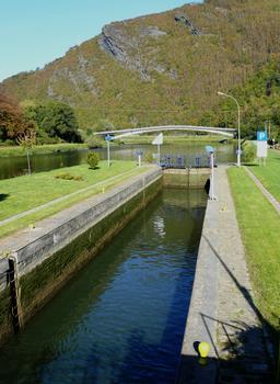 Canal de l'Est - Revin - Lock No. 49 & bridge