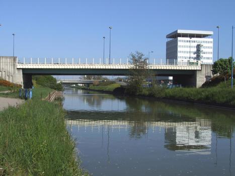 Canal de la Marne au Rhin à Nancy