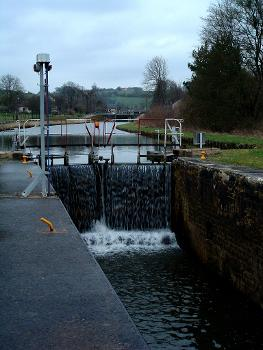 Canal des Ardennes à Montgon - Ecluses n°14 et n°13
