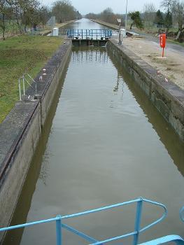 Canal des Ardennes - Ecluse n°8 de Thugny-Trugny