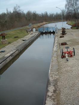 Canal des Ardennes - Ecluse n°9 de Biermes
