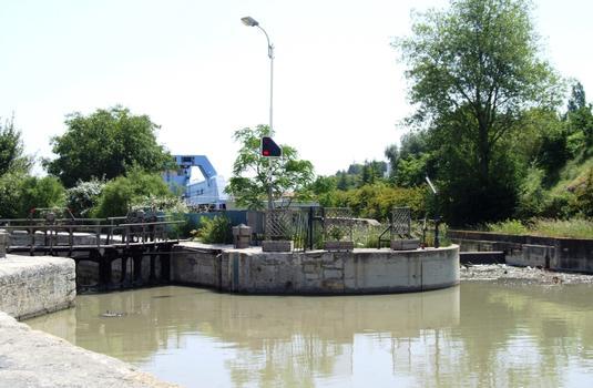 Canal du Midi - Béziers - Schleusentreppe Fonséranes