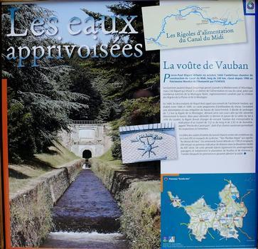 Canal du Midi - Les Cammazes - Voûte Vauban