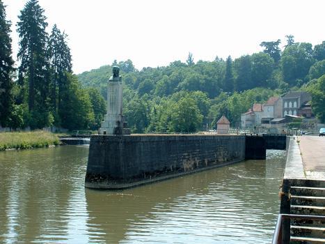 Canal du Nivernais - Clamecy - Ecluse
