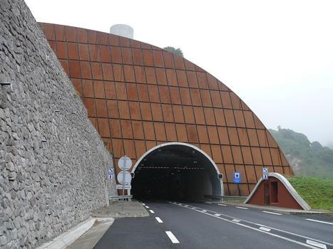 Nouveau tunnel routier du Lioran - Côté Aurillac