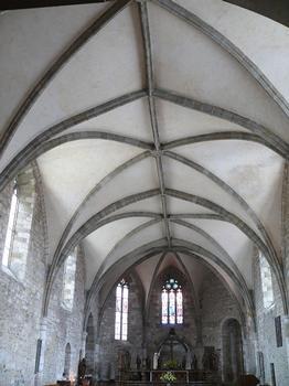 Maurs - Abbatiale Saint-Césaire (église Saint-Pierre) - Nef