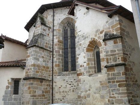Maurs - Abbatiale Saint-Césaire (église Saint-Pierre) - Chevet