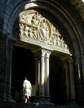 Eglise Saint-Pierre de Carennac. Portail Ouest