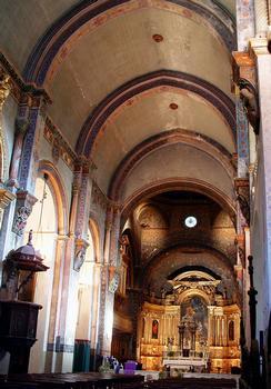 Cavaillon - Ancienne cathédrale Notre-Dame et Saint-Véran - Nef et choeur
