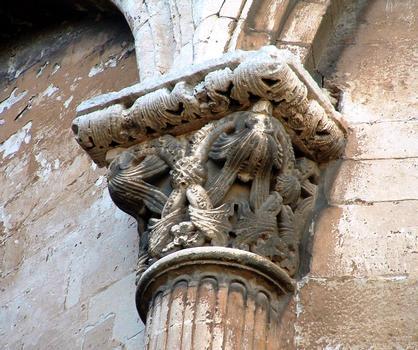Cavaillon - Ancienne cathédrale Notre-Dame et Saint-Véran - Chapiteau de l'abside