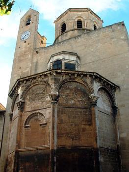 Cavaillon - Ancienne cathédrale Notre-Dame et Saint-Véran - Abside, clocher et tour