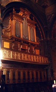 Cavaillon - Ancienne cathédrale Notre-Dame et Saint-Véran - Choeur - Orgue