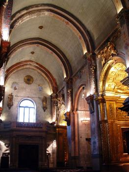 Cavaillon - Ancienne cathédrale Notre-Dame et Saint-Véran - Nef et tribune