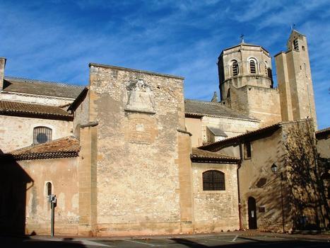 Cavaillon - Ancienne cathédrale Notre-Dame et Saint-Véran - Vue du côté sud