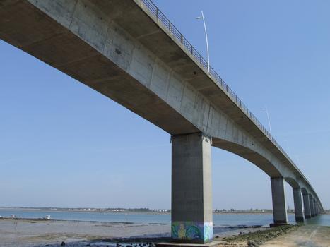 Pont sur la Seudre - Vu depuis la rive gauche