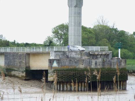 Hubbrücke Martrou, Rochefort.