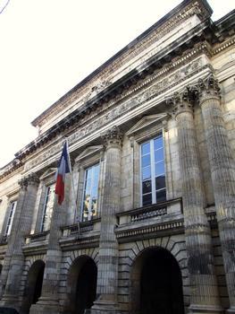 La Rochelle - Palais de justice - Façade sur la rue du Palais